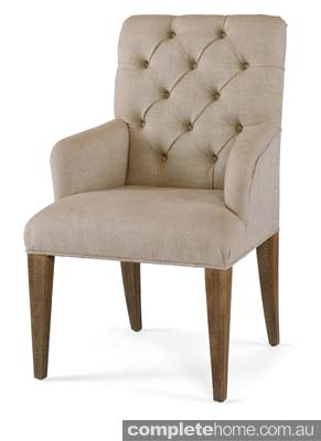 American rustic style: monarch dining chair.