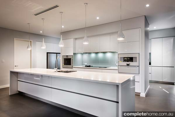 Real kitchen an understated contemporary space completehome Modern elegant kitchen design