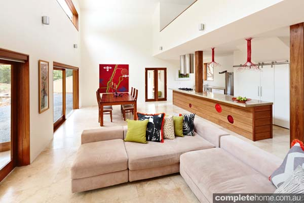 Grand Designs Australia: Warburton living room