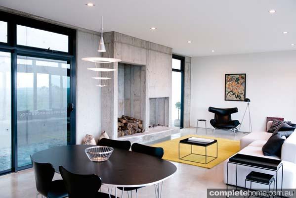 Grand Designs Australia Ocean View living room