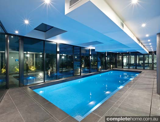 How to plan a swimming pool design completehome for Domestic swimming pool design