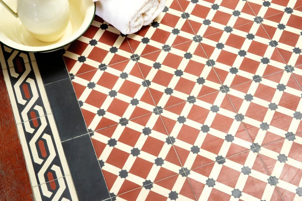 New range of encaustic tiles from Schots Home Emporium
