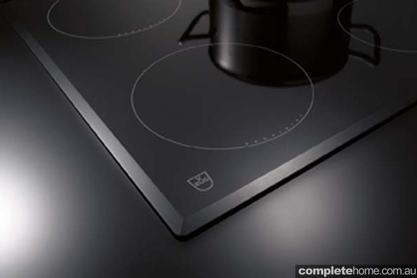 The faceted edge cooktop from V-ZUG.