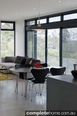 Grand Designs Australia Ocean View dining room