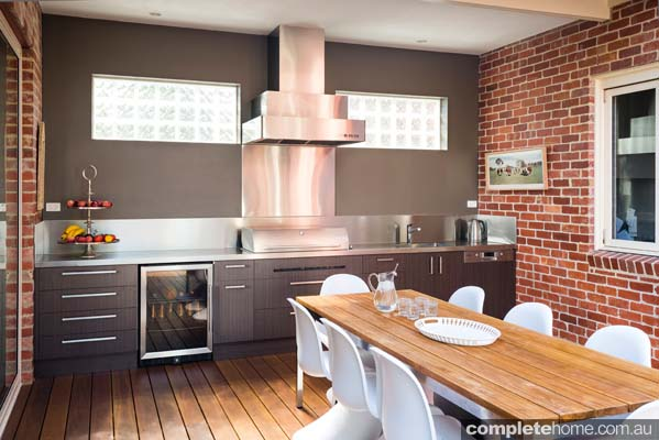 modern sophisticated kitchen design meets seamless alfresco kitchens perth designs amp ideas patio living