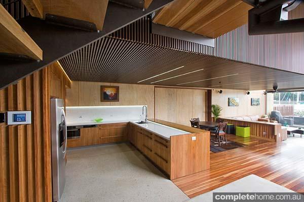 A beautiful timber kitchen design from Garsden & Clarke Kitchens