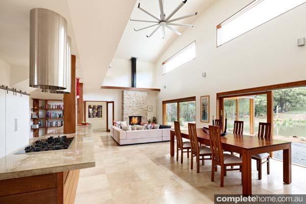 Grand designs australia warburton house completehome for Living room designs australia