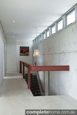 Grand Designs Australia Ocean View stairs