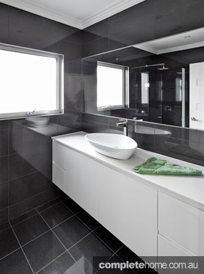 Bathroom in a duplex from M.A.G Constructions