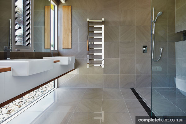 Trend alert bathrooms with a view completehome Small bathroom floor plans australia