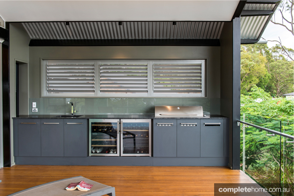 a stunning alfresco kitchen from enigma interiors