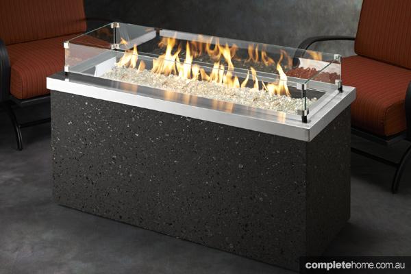 Jetmaster outdoor fireplace key largo