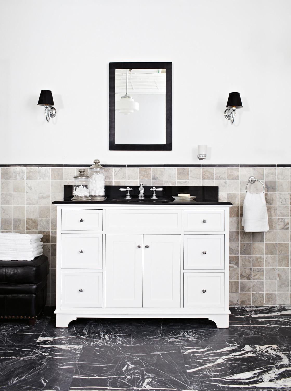 Glamorous Art Deco bathroom - Completehome