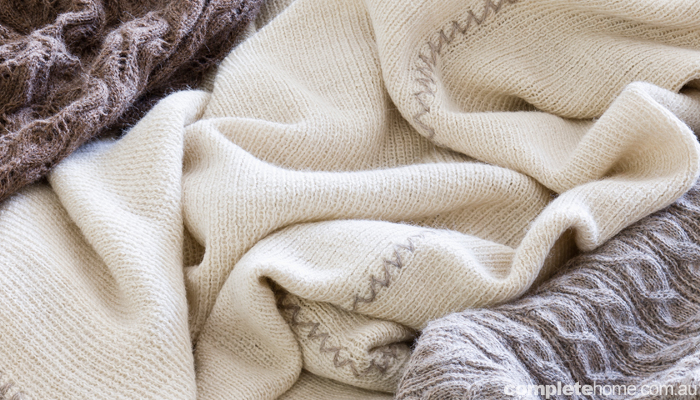 eco friendly blankets by Cascada Eco Textils