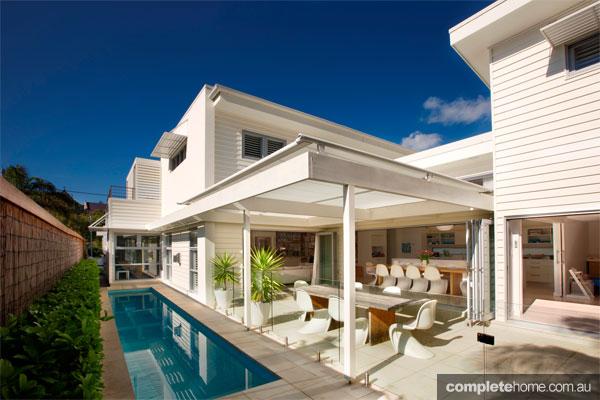 A beautiful beach house from Santum Design