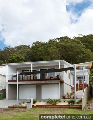 A customised modular home from Parkwood Modular Homes.