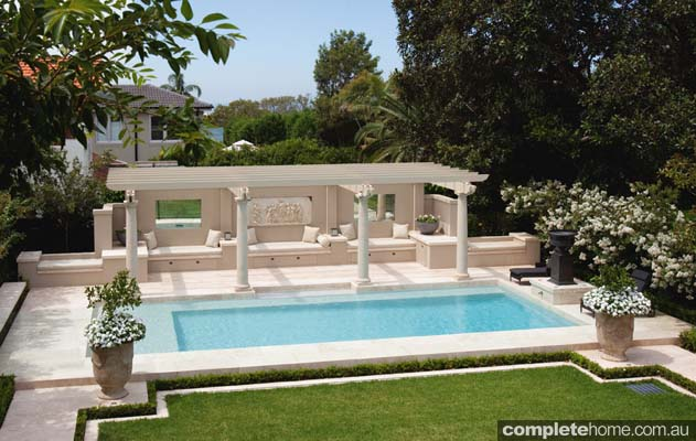 an elegant and luxurious pool design completehome
