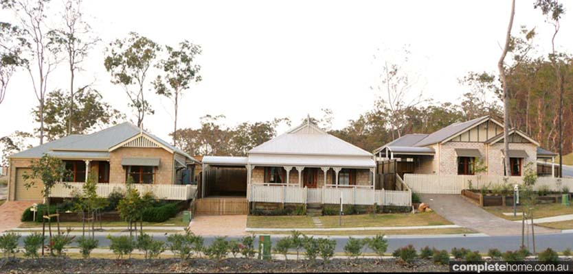 Traditional queenslanders and colonial style homes Colonial style homes floor plans