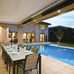 Stylish and energy-efficient outdoor heating