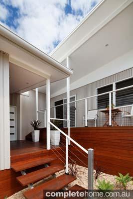 Modern modular home - exterior.