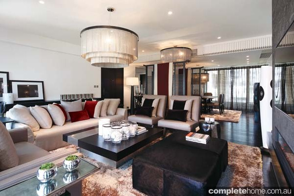 Neutral Living Room Textural Design By Kelly Hoppen Oriental Style ... Part 23