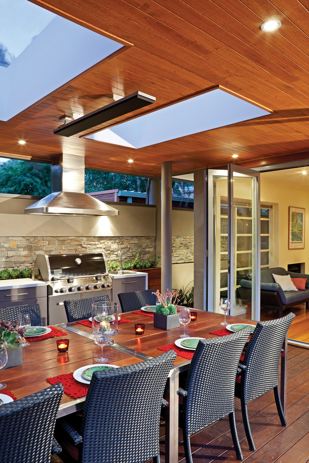 Stylish and energy efficient outdoor heating completehome for Efficient home heating