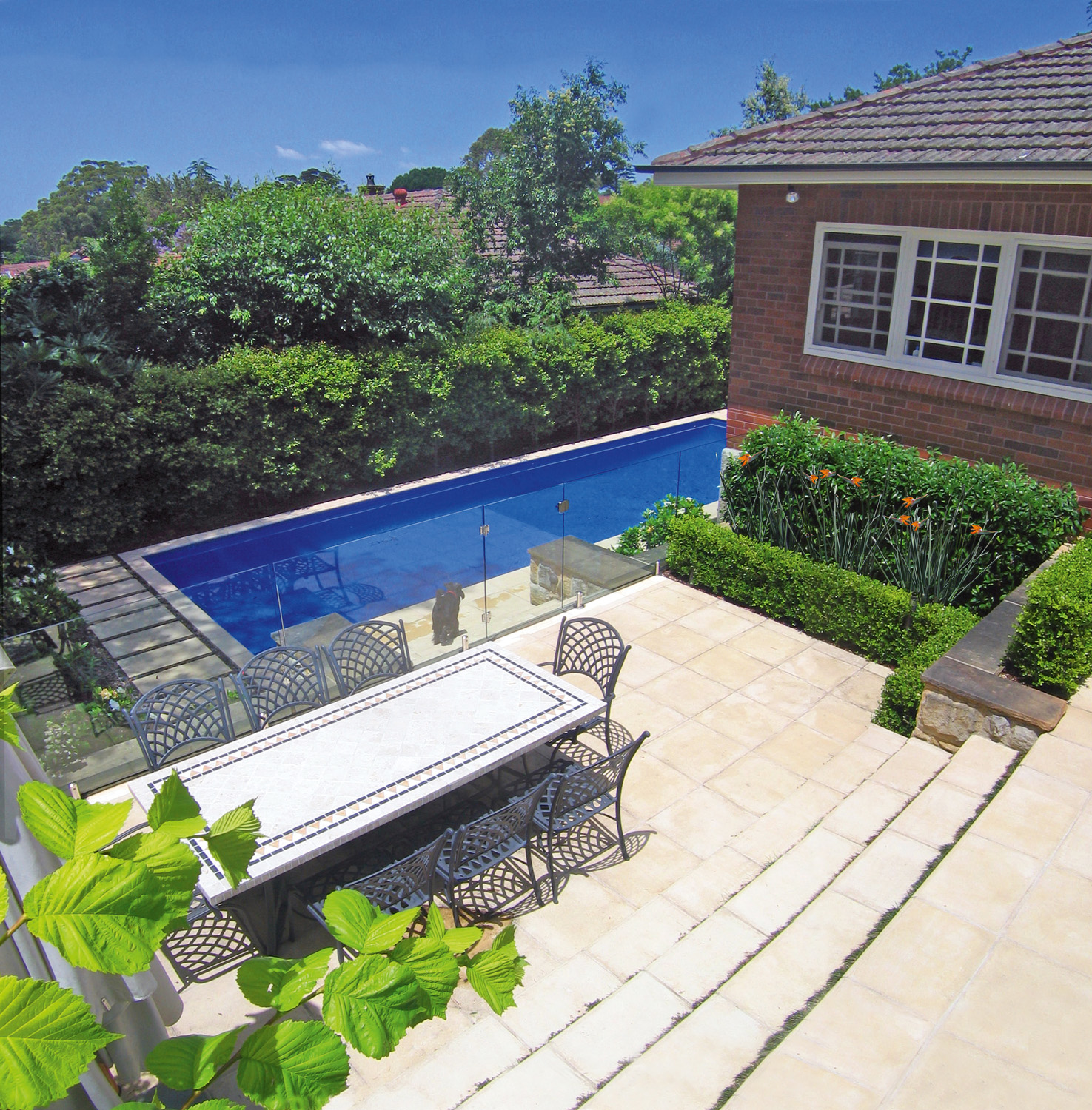 simple and sophisticated pool design completehome