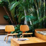 Modern courtyard garden design