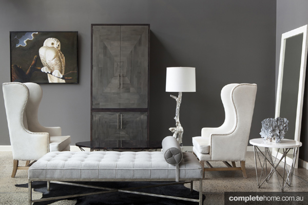 Cool city chich interior design ideas grey living room