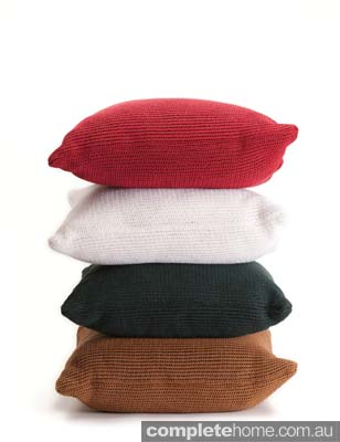 paper cushion  made from softened recycled paper