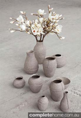Recycled Paper Eco Vases