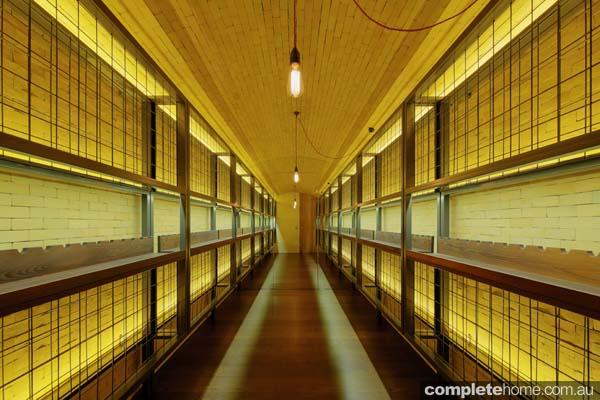 Grand Designs Australia wine cellar