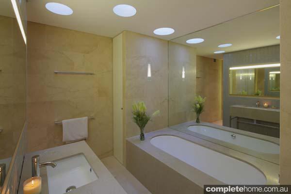 Grand Designs Australia Marble bathroom