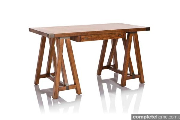 hudson solid timber desk