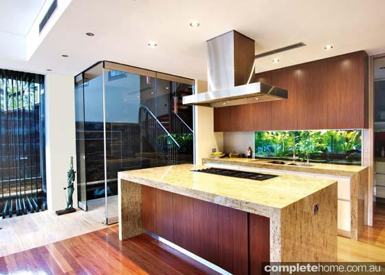 neutral tones modern kitchen designs