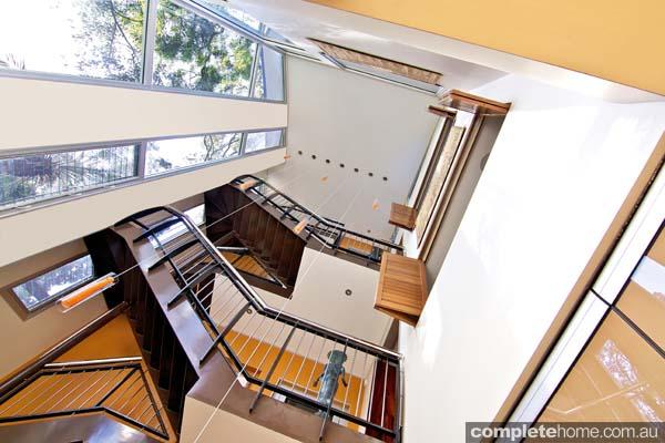 four storey atrium natural light