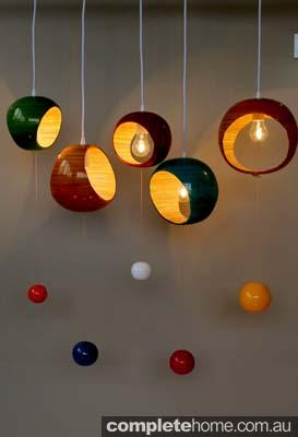 Retro Eco Bubble Pendants