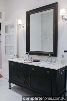 contemporary bathroom design french style cabinet