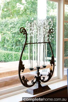Rustic french style ornament