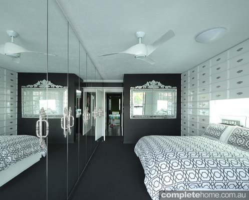 compact design - contemporary bedroom