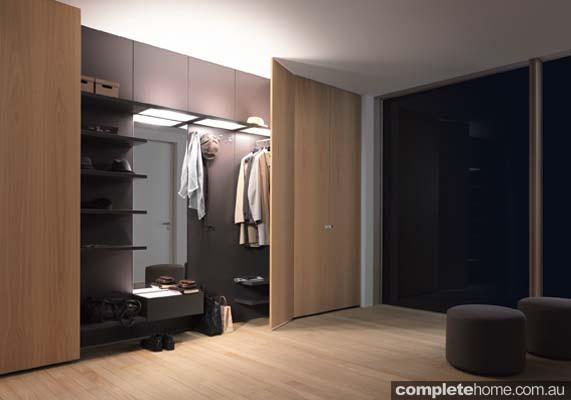 contemporary style modular waredrobe