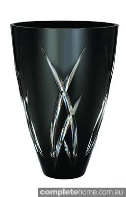 JR at Waterford Signature Black 35cm Vase