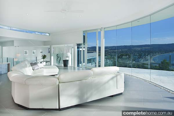 open plan contemporary lounge