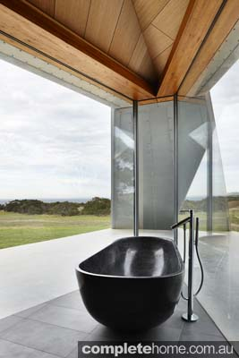 Inverloch sand dune house contemporary standalone bath