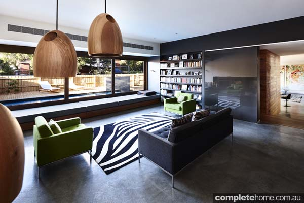 contemporary interior design lounge