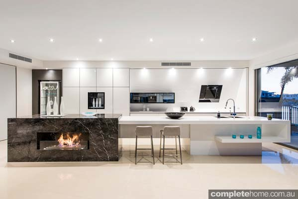 Enigma Interiors home project - open plan lighting