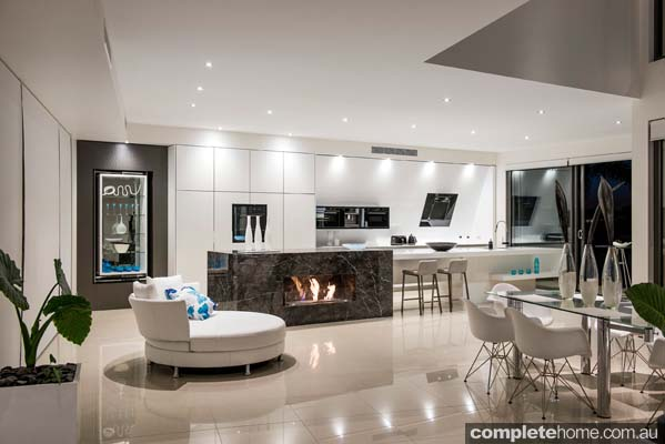 Enigma Interiors home project - modern open plan living space
