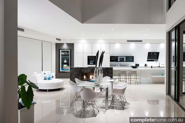 Enigma Interiors home project - funky modern interior design