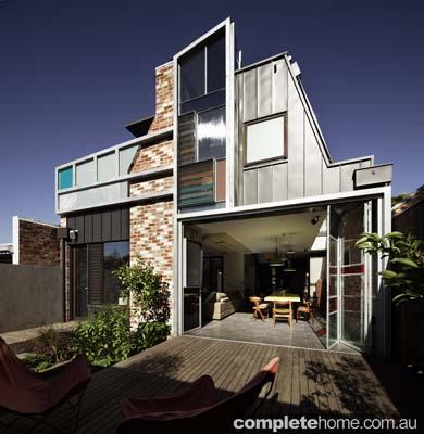 contemporary victorian home