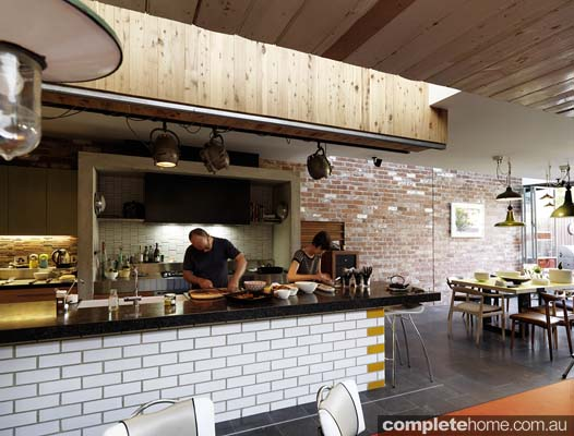 Cafe culture award winning recycled design completehome for Design industry melbourne